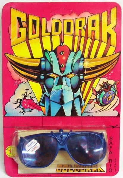 Goldorak - Safa Rio - Lunettes de soleil enfant