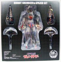 Goldorak - Sen-Ti-Nel Toys - Riobot Grendizer & Spazer Set 10th Anniversary