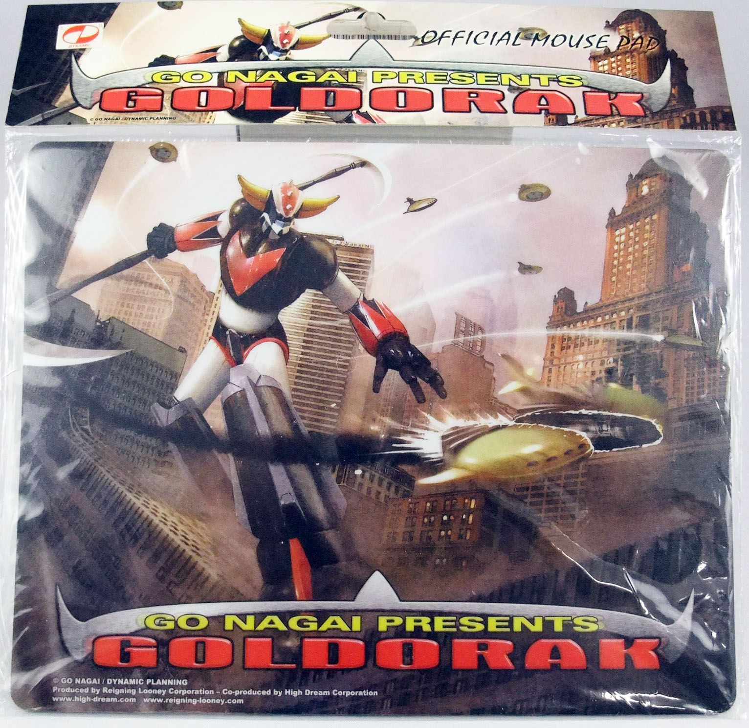 Goldorak - Tapis de souris : Goldorak contre les navettes de Véga - HL Pro