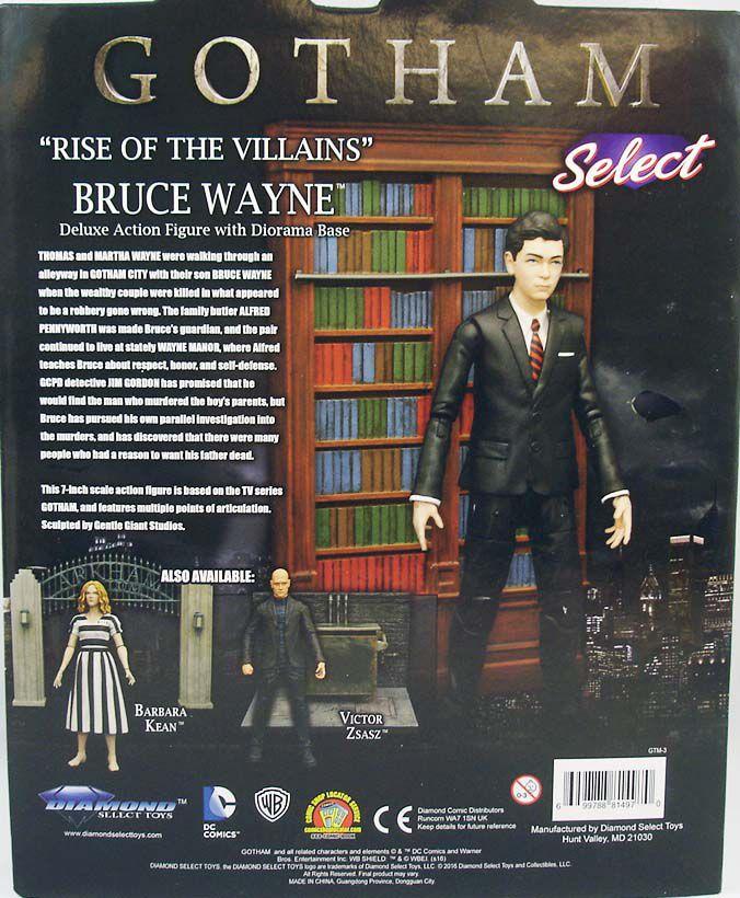 Gotham - Bruce Wayne - Diamond Select Deluxe Action-Figure