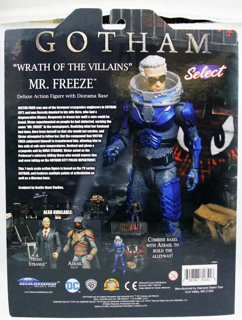 Gotham - Mr. Freeze - Diamond Select Deluxe Action-Figure