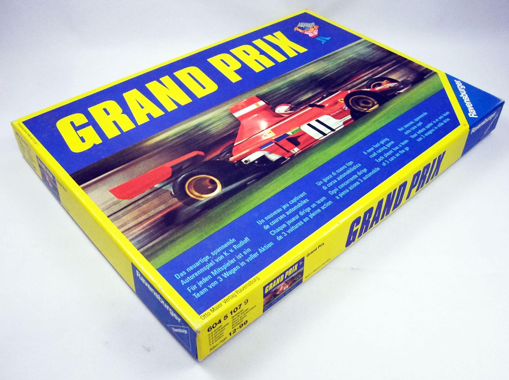 Grand Prix - Jeu de Plateau - Ravensburger 1975