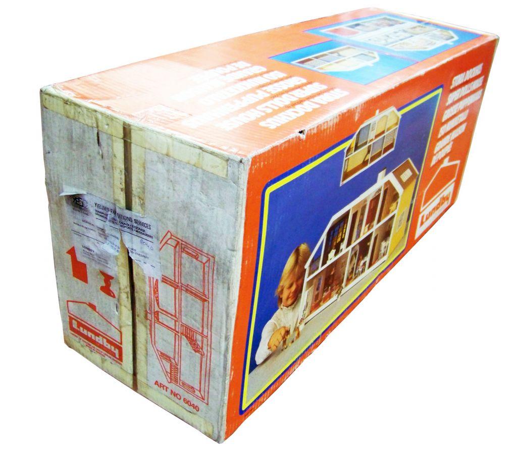 Grande Maison de Poupées (90cm) Ref.6040 - LUNDBY of SWEDEN 1985 (neuve en boite) 04