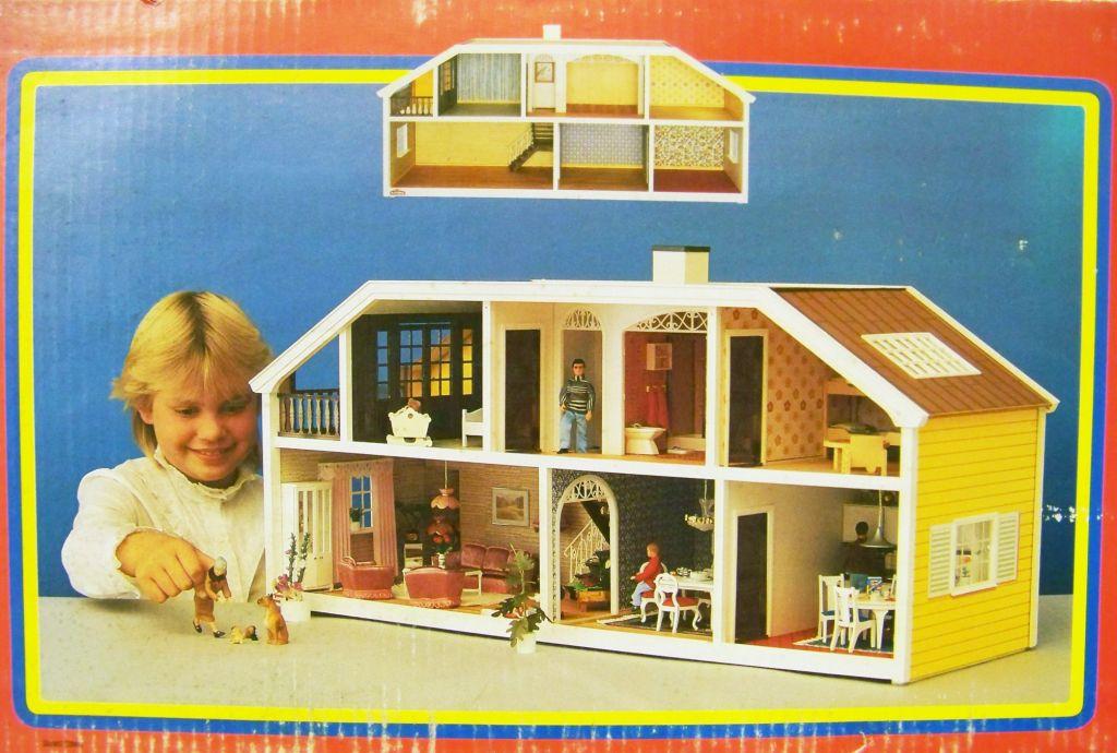 Grande Maison de Poupées (90cm) Ref.6040 - LUNDBY of SWEDEN 1985 (neuve en boite) 05