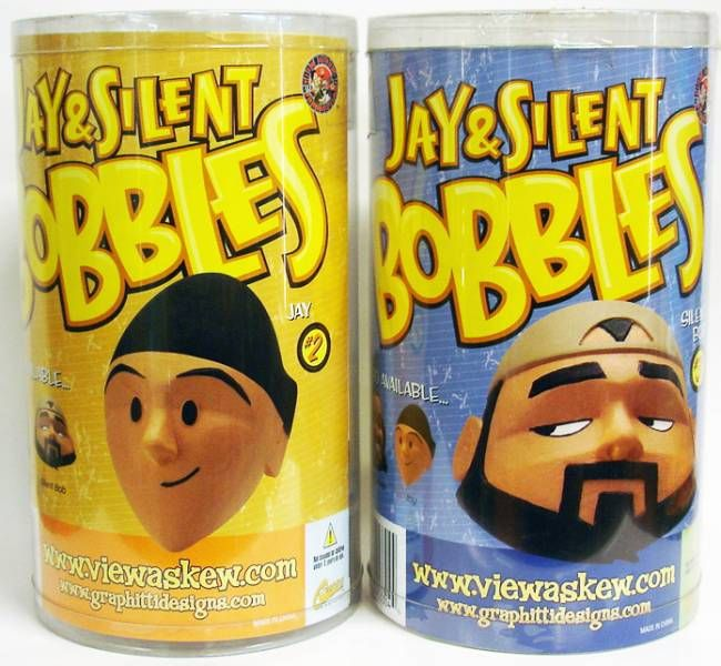 Graphitti Designs - Jay & Silent Bob - Set of 2 Bobblers