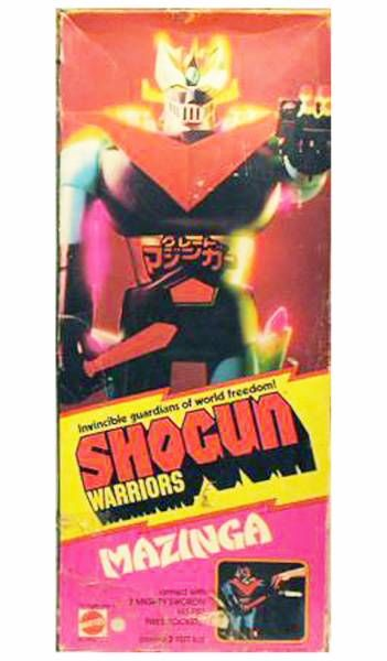 Great Mazinger - Mattel Shogun Warriors - Great Mazinger Jumbo Machineder 2nd edition (Mint in box)
