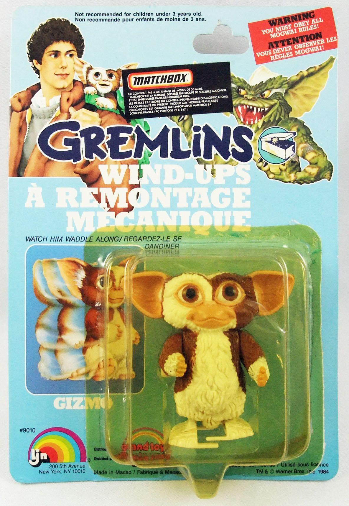Gremlins - LJN 1984 - Gizmo wind-up (sous blister)