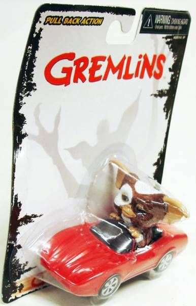 Gremlins - Neca \'\'Go Gizmo Go\'\' Motorized Pull Back & Go Action - Gizmo in Corvette