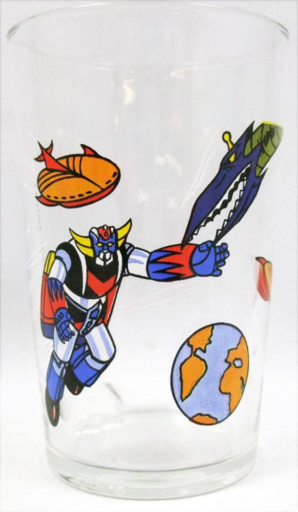 Grendizer - Amora mustard glass - Grendizer in space