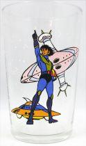 Grendizer - Amora mustard glass - Koji and Blacky\'s ship