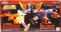 Grendizer - Bandai Soul of Chogokin - Marine Spazer & Drill Spazer set GX-04X