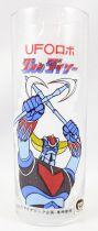 """Grendizer - Drinking glass 5.5\"""" Toei Doga Japan 1976 - Double-Hacken!"""