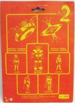 Grendizer - Fabianplastica carded PVC Figure set - Grendizer, Duke Fleed & Koji Kabuto