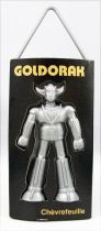 "Grendizer - Goldrake Air Freshener - Black ""Honeysuckle\"" - Toei Dynamic Pictural Antenne 2 1978"