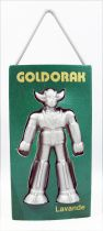 "Grendizer - Goldrake Air Freshener - Green ""Lavender\"" - Toei Dynamic Pictural Antenne 2 1978"
