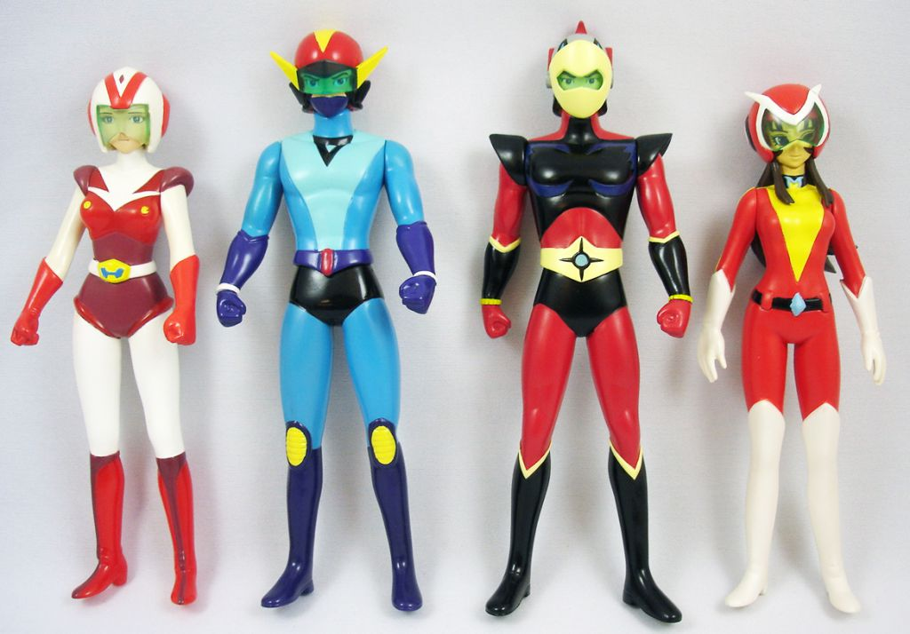 Grendizer High Dream Grendizer Pilots Team 6 Quot Vinyl
