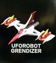 Grendizer - King Arts DFS067 - Grendizer & Double Spazer metal robot set with light up features
