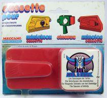 Grendizer - Meccano - Minicinex projector cassette Grendizer \'\'The Saucers of Infinity\'\'