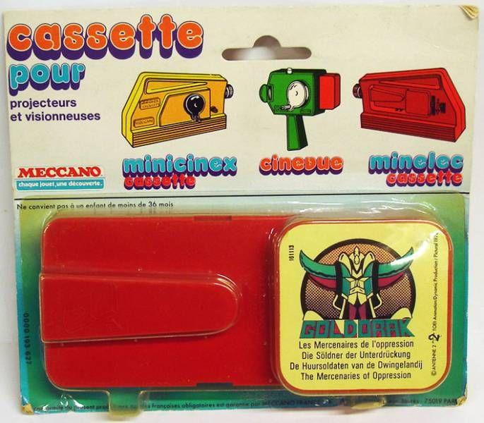 Grendizer - Minicinex Projector cassette Grendizer \'\'The Mercenaries of Oppression\'\'