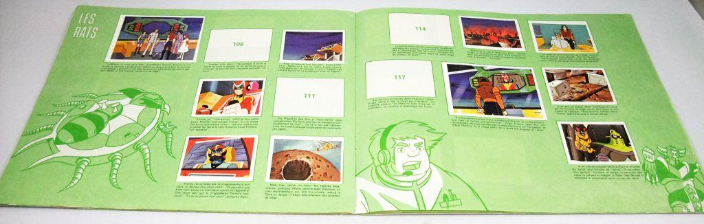 "Grendizer - Stickers Collector book \""The return of Goldrake\"" - A.G.E."