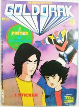 Grendizer - Tele-Guide Editions - Goldorak Monthly Magazine #33