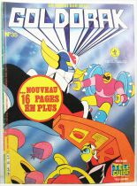 Grendizer - Tele-Guide Editions - Goldorak Monthly Magazine #35
