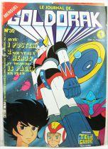 Grendizer - Tele-Guide Editions - Goldorak Monthly Magazine #39
