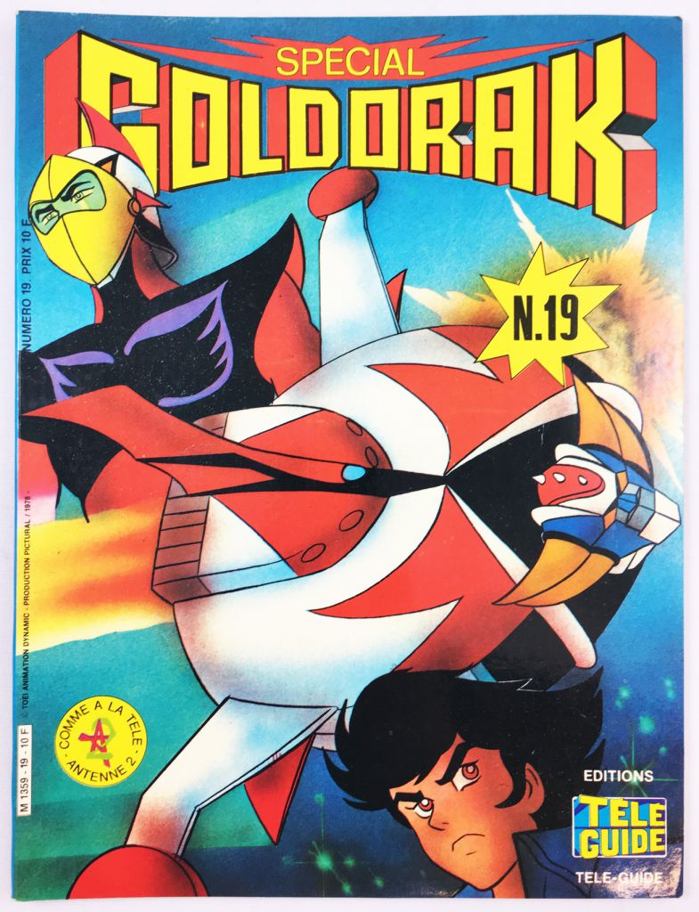 Grendizer - Tele-Guide Editions - Grendizer Special n°19