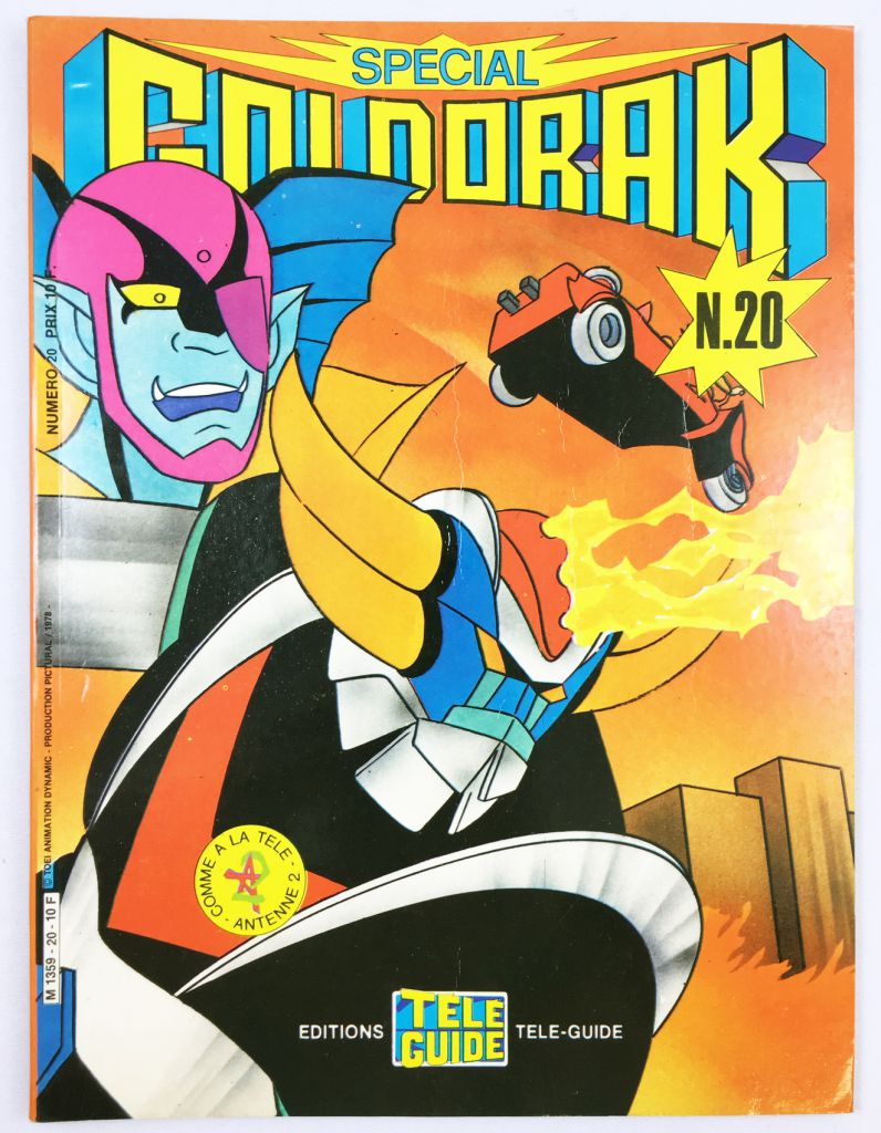 Grendizer - Tele-Guide Editions - Grendizer Special n°20