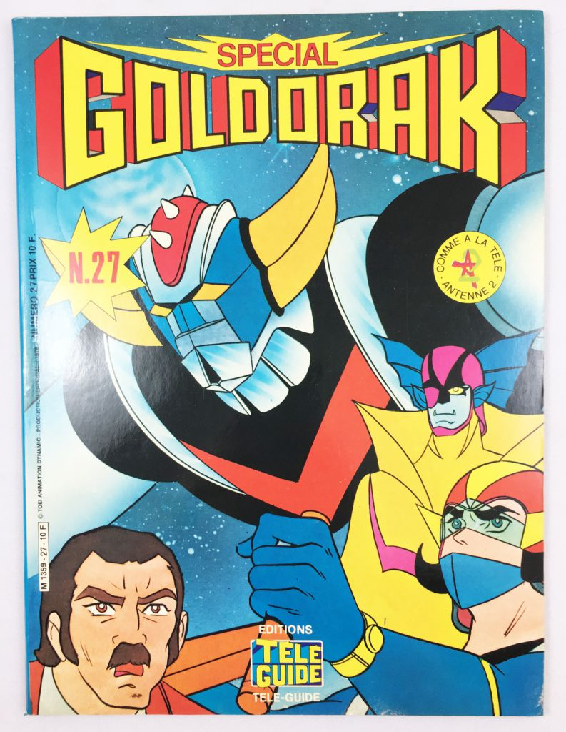 Grendizer - Tele-Guide Editions - Grendizer Special n°27