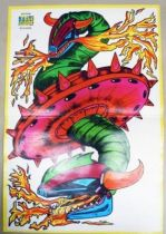Grendizer - Tele-Guide Editions - Poster Golgoth