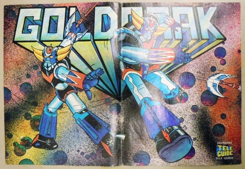 Grendizer - Tele-Guide Editions - Poster Grendizer