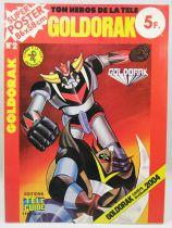 "Grendizer - Tele-Guide Editions - Super Poster #2 \""Goldrake vs. Golgoth 2004\"""