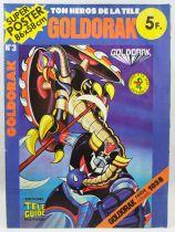 "Grendizer - Tele-Guide Editions - Super Poster #3 \""Goldrake vs. Anterak 1038\"""