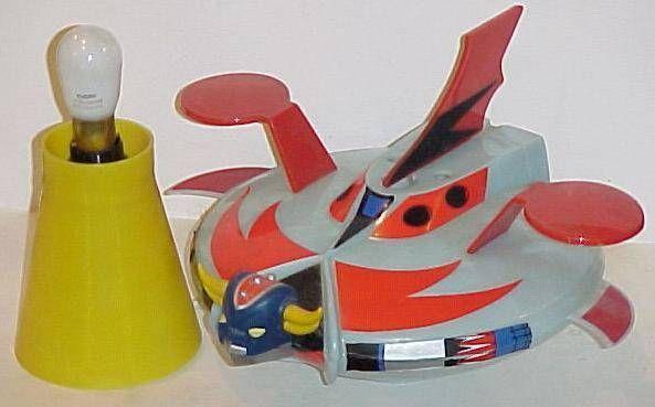 Grendizer flying saucer bedside lamp