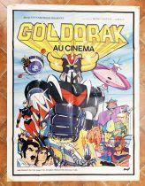 Grendizer the Movie - Movie Poster 120x160cm - Toei Dynamic Pictural AMLF-Paris
