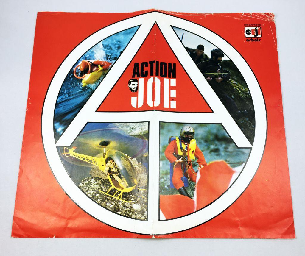 Group Action Joe - Ceji Arbois Promotional Poster 1977