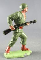 Guilbert - Armée Moderne - Soldat Casqué avançant fusil