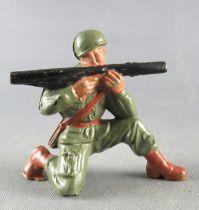 Guilbert - Armée Moderne - Soldat Casqué Bazooka genoux