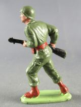 Guilbert - Modern Army - Khaki Infantry advancing with rifle