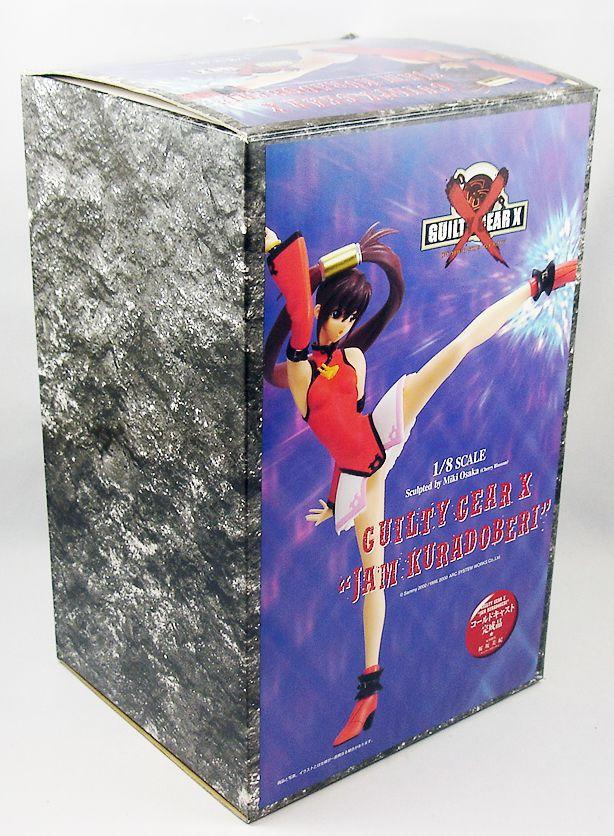 Guilty Gear X - Jam Kuradoberi 1/8 scale cold-cast resin statue - Epoch