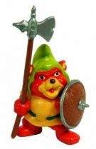 Gummi Bears - PVC figure Schleich - Gruffi with Halberd