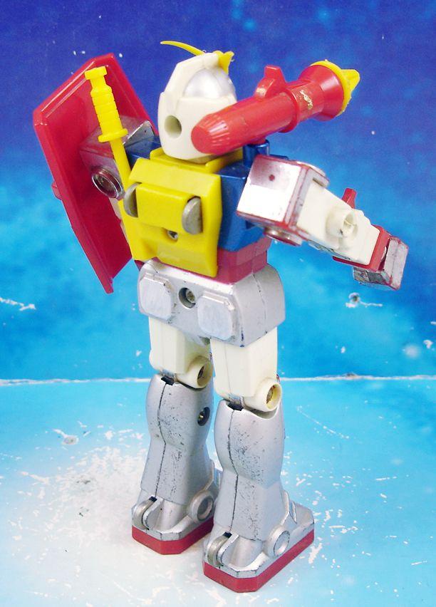 "Gundam RX-78 - 5\"" Robot (loose) - Clover"