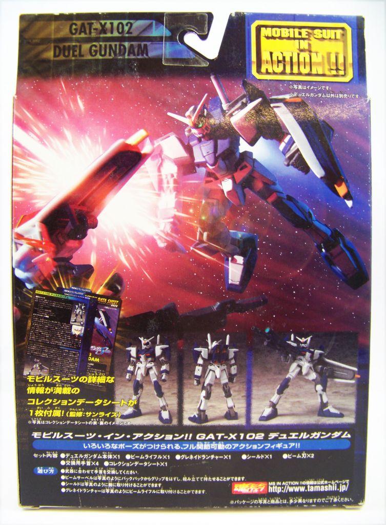 Gundam Seed - 4.5\'\' Mobile Suit Action Figure - Mobile Suit GAT-X102 Duel Gundam 02