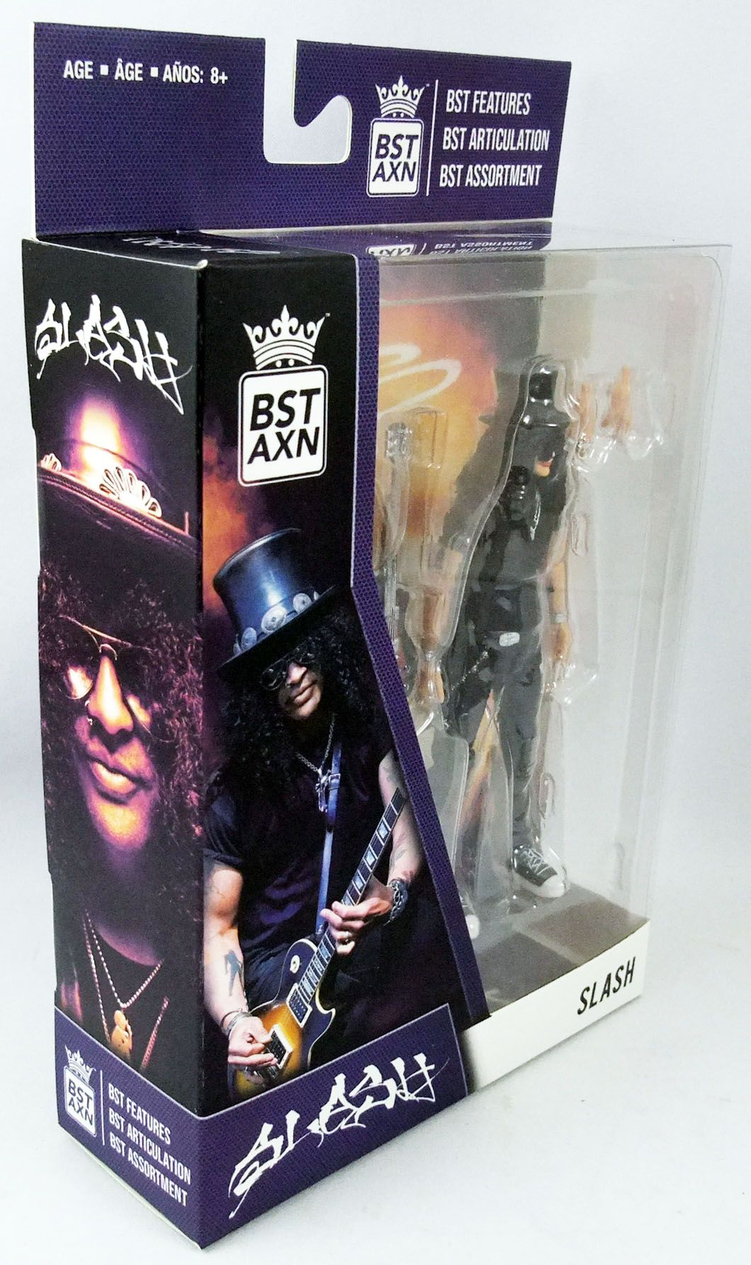 Guns N\' Roses - Slash - Figurine 13cm BST AXN The Loyal Subjects