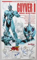 "Guyver - Bio Fighter Collection Max 05+ - Guyver I ""Image Head Plus\"" - Max Factory"