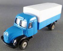 Hachette Ho 1/76 Camion Magirus Deutz Bleu Bâche Blanche