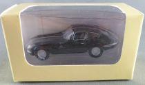 Hachette Ho 1/76 Jaguar Type E Noire Neuf Boite