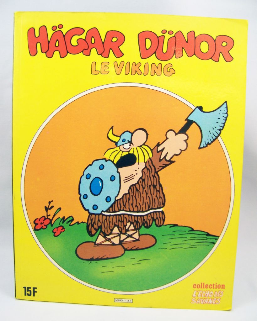 Hägar Dünor le Viking - BD Collection l\'Echo des Savannes - Editions du Fromage 01