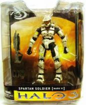 Halo 3 - Series 1 - Spartan Soldier [MARK VI] White Version